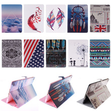 Fashion Designer PU Leather Case cover For Apple Air 2 Case Folio Stand Protector Skin For iPad 6 PC Tablet Accessories M4A36D