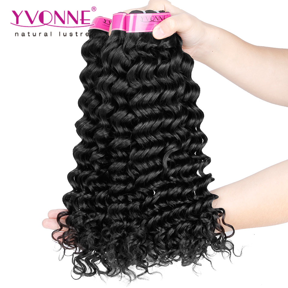 4 Bundles Brazilian Virgin Remy Hair Extension,Grade 5A Deep Curl Hair,12-28Inches,Natural Color<br><br>Aliexpress