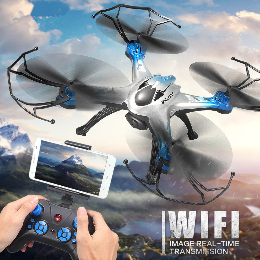 Drones Camera H29 Dron Quadcopter 2.4G 6 axis One-Key Course Reversal Quadrocopter Gyro RC Helicopter Helicoptero