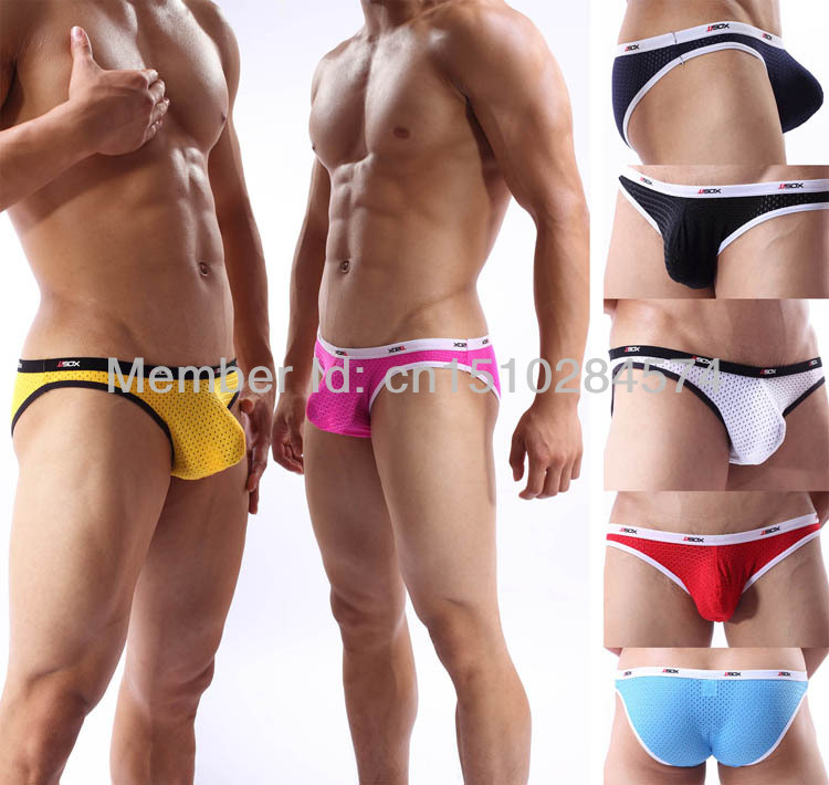 men sexy briefs mesh Bulge pouch sexy men's underwear briefs spandex mini bikinis briefs underpants men's briefs shorts MU1921(China (Mainland))