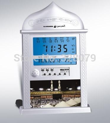 best selling azan clock prayer clock muslim clock newest items best islamic gift(China (Mainland))