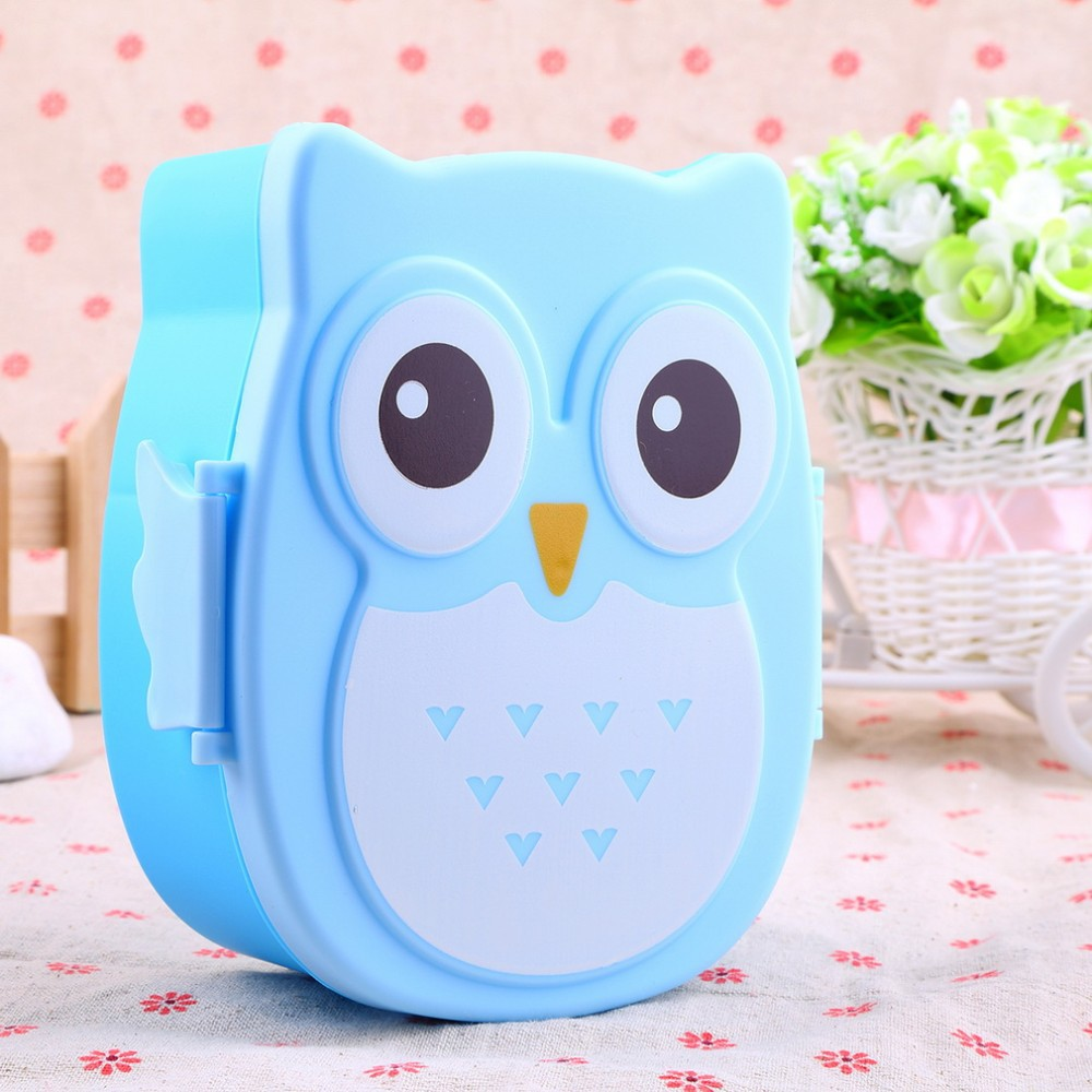 1050ml Cartoon Owl Lunch Box