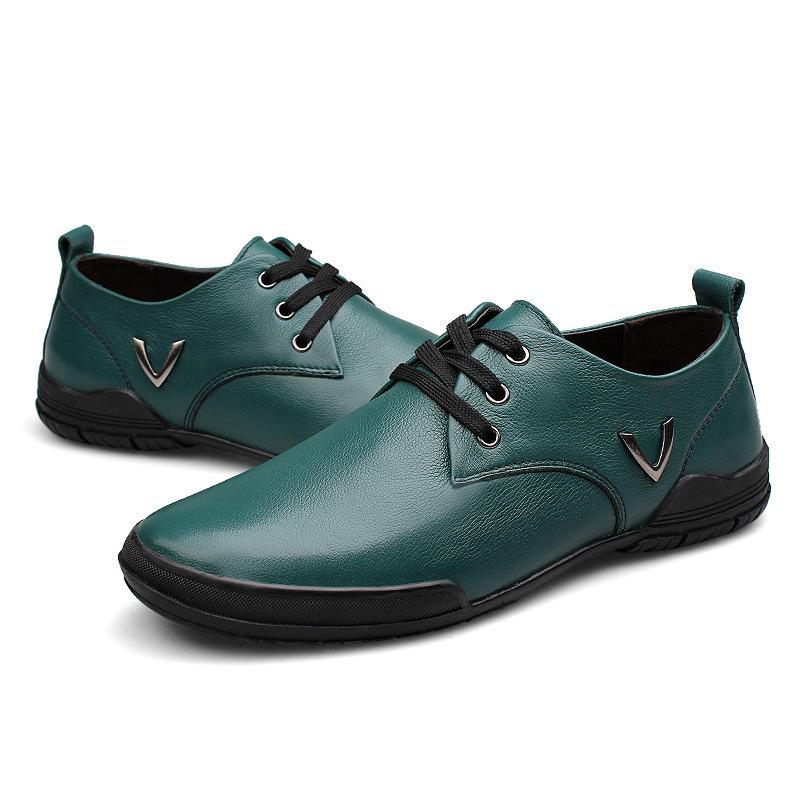 2014 men fashion dress shoes men genuine leather oxford shoes for men Comfortable business shoes Big size shoes EU 48 B167