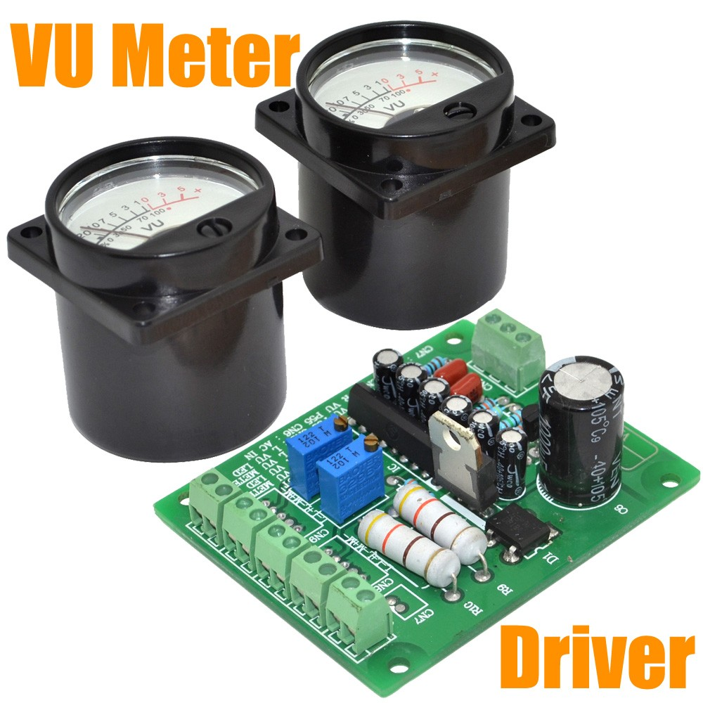 Diyaudio How To Wire A Vu Meter Vk6wia News Broadcast Transceiver Circuits Brand New Panel Warm Back Light Recordingaudio