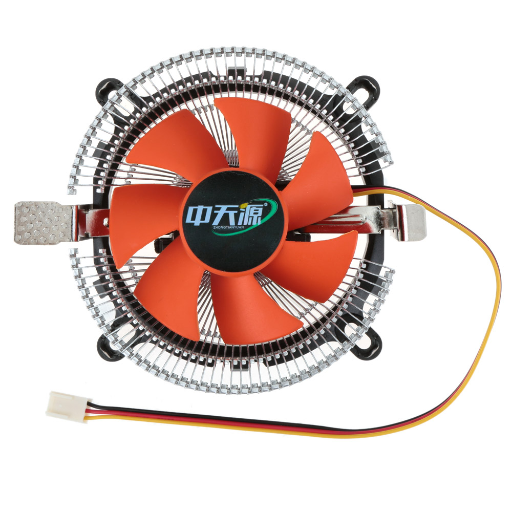 Aluminum Alloy Hydraulic Quiet Fast Radiator Cooling Big Fans CPU Cooler for Intel LGA775/1155/1156 AMD Am2 AMD S-754/939/940(China (Mainland))