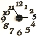 2 Color DIY Clock Digital Wall Clock Home Decorate Birthday Gift Free Shipping