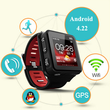 Dual Core Outdoor Sport Android Smartwatch With Bluetooth Camera GPS WIFI Digital Smart Wrist Watch SIM