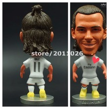 Soccerwe football player RM 11 BALE 2015~2016 classic simulation action figures collectible model toys(China (Mainland))