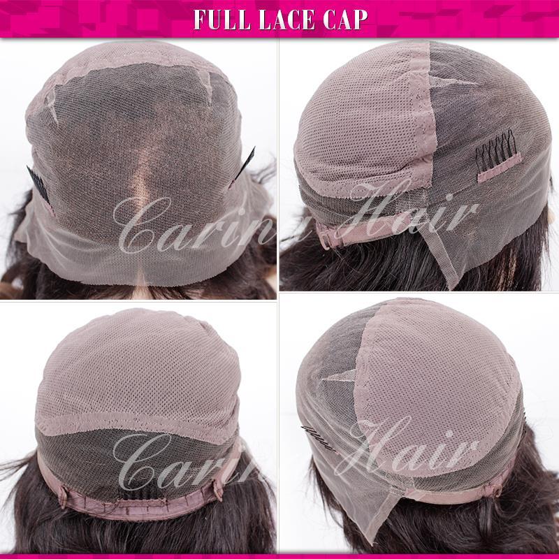 100% virgin brazilian glueless ombre grey lace front wig two tone Brazilian gray human hair full lace wigs 150% Density freeship