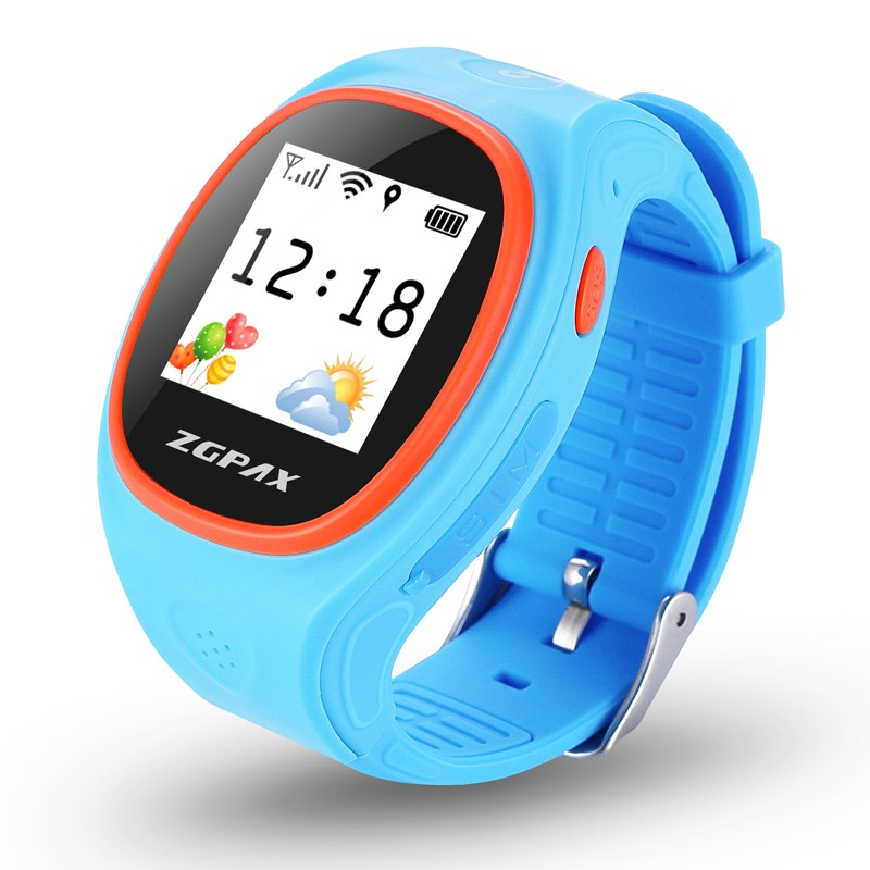 Kids GPS tracker Smart Watch with SOS GPS LBS WIFI Bluetooth Positioning Life Waterproof for Android IOS free shipping(Hong Kong)