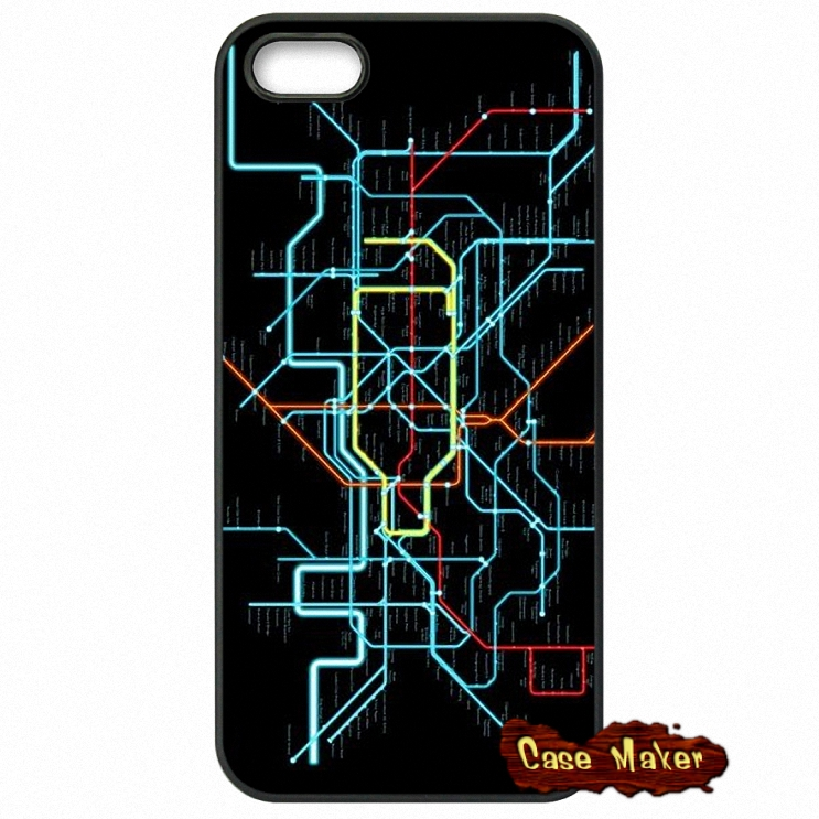 London Underground Tube Map Case Cover For iPhone Samsung Huawei Xiaomi Sony iPod LG HTC Lenovo Nokia Moto(China (Mainland))