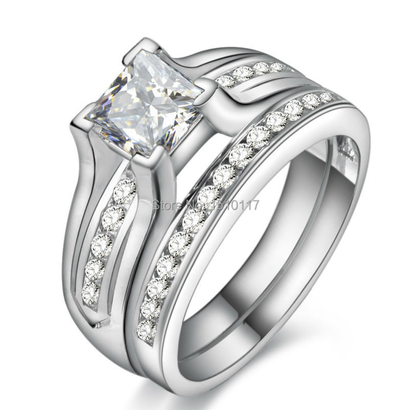 Aliexpress Buy Ship From US Platinum Plated Wedding Rings For Women Pri