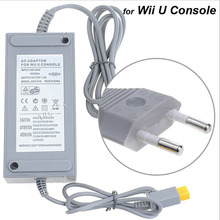 US/EU Plug 100-240V DC 15V 5A Home Wall Power Supply AC Charger Adapter Cable for Nintendo Wii U Console Host +Tracking Number