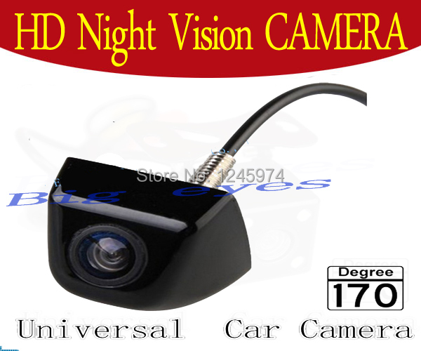 CCD HD universal Car rear view camera HD color night vision car camera for all car such solaris corolla BMW E36 mazda(China (Mainland))