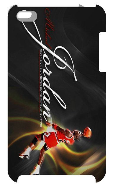 NEW MichaelJordan Case Hard Back Cover For Ipod Touch 4 4th 1pc+free Shipping