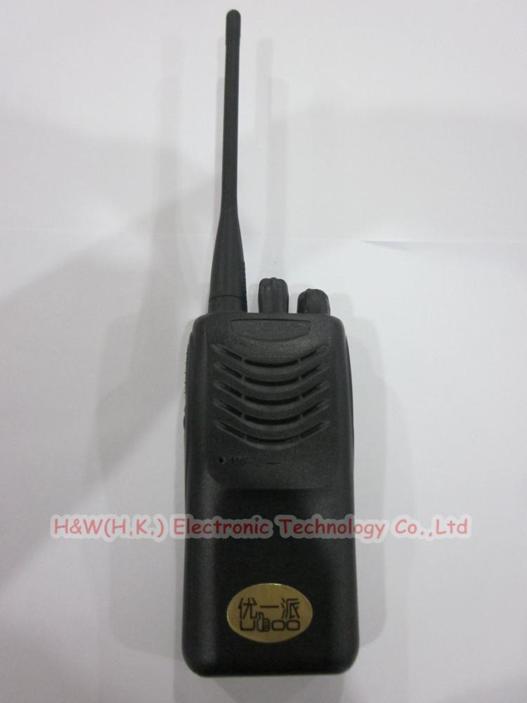 2x High quality and best price16 channel uhf frequency handheld radio walkie talkie TK-U100(China (Mainland))