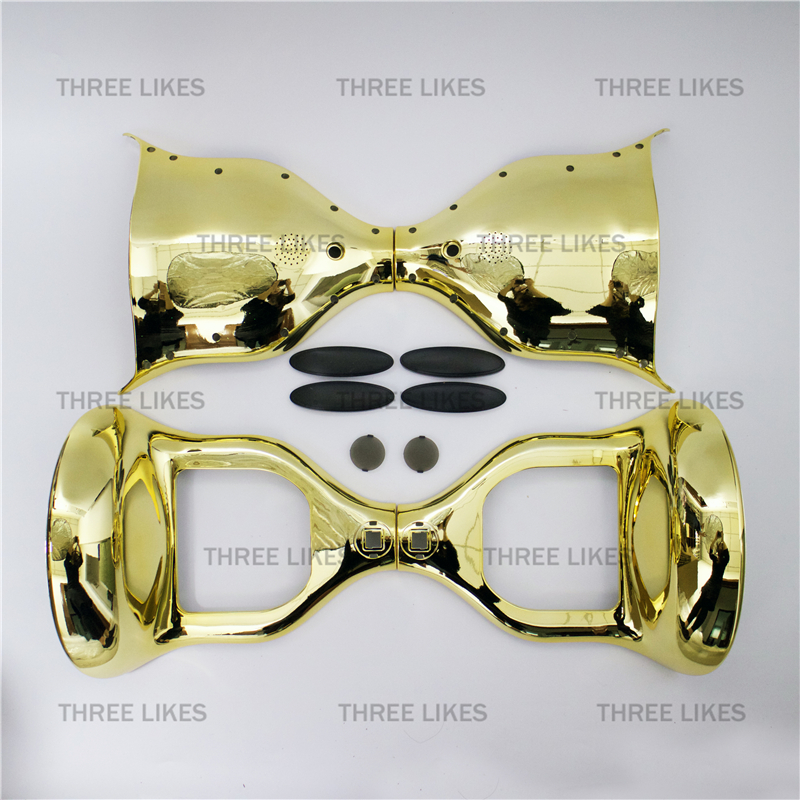 Chrome Golden Electric Scooter Case Outer Shell Replacement Part for 10 Inches Smart Self Balancing 2 Wheels Standing Scooter<br><br>Aliexpress
