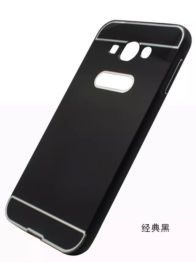 Luxury Metal Aluminum+PC Hard Back Skin Cover Pull Out Protective mobile Phone Case Cover For Samsung Galaxy E7 E700(China (Mainland))