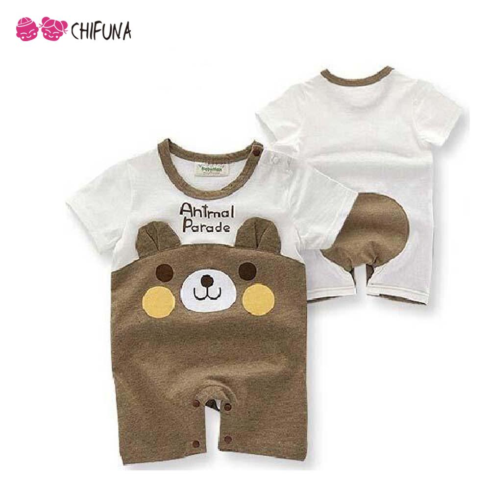 Hot Sale 2016 Summer Baby Rompers New Year Costumes for Kids Cartoon Toddler Boys Clothing Cotton Newborn Baby Girl Clothes(China (Mainland))