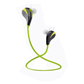 Bluetooth In Ear Stereo Wireless Earphones for Running with Mic 6 Hours Play Time Bluetooth 4