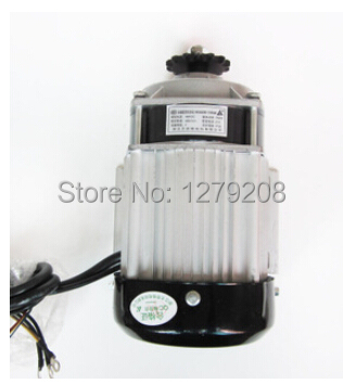 DC 48V 750W brushless motor electric tricycle , gear Hub motor, - Sarach store