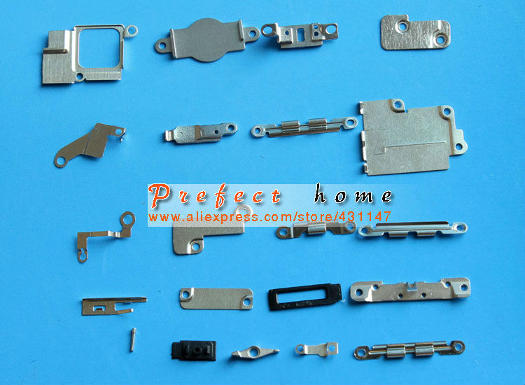 1 Set 100% Genuine 21 pcs in 1 set Inner Small Parts Brackets Replacement Part For iPhone 5