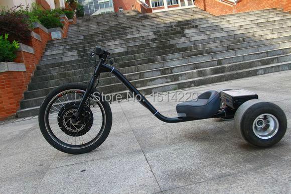 acheter lectrique 48 v 500 w drift trike lectrique go kart fat tire. Black Bedroom Furniture Sets. Home Design Ideas