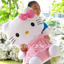 """Sanrio toys, hello kitty plush toys 20"""" SIZE purple pink and blue to chose  soft dolls k750(China (Mainland))"""