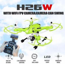 JJRC H26W 4CH 6 Axis Gyro RC WIFI FPV RC Quadcopter 2.4G WIFI Real-time Transmission Drone with 2.0MP Camera