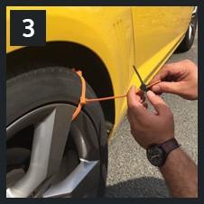 Новый год выхода ZipClipGo аварийного тяги помощь спасательный энергосбережения для автомобиль застрял в грязи снега или льда в плохую погоду условия