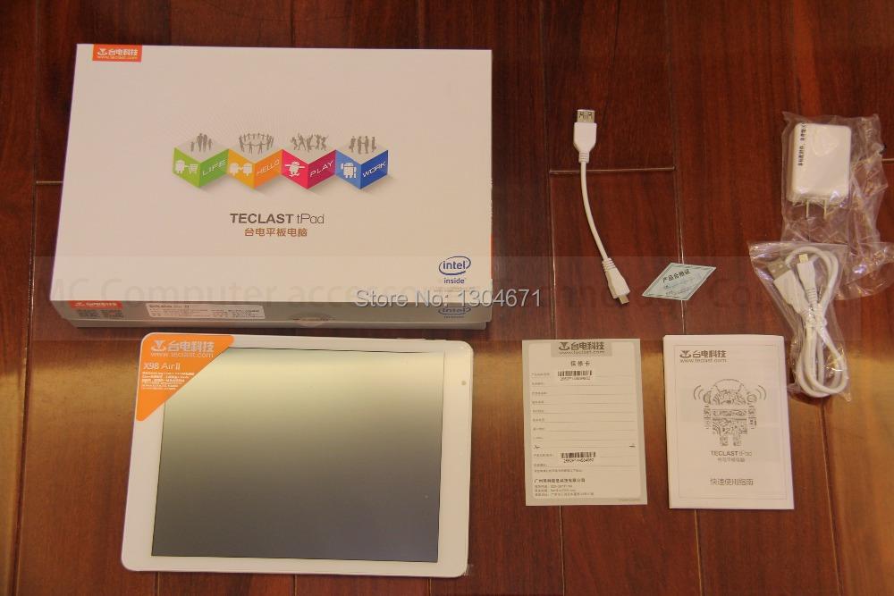 NEW! Arrives Teclast X98 Air ii 8-Core 9.7inch Tablet PC Allwinner A80T Octa-Core 2G LPDDR3 32G eMMC 2048X1536 HDMI 13M Camera