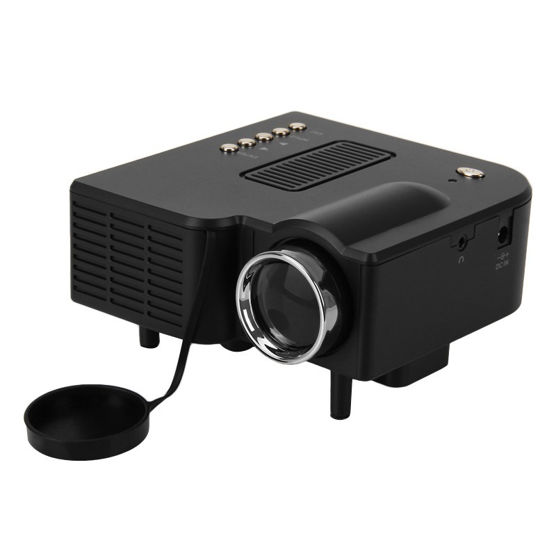 2015 uc28 portable led projector cinema theater pc laptop for Pocket projector hdmi input
