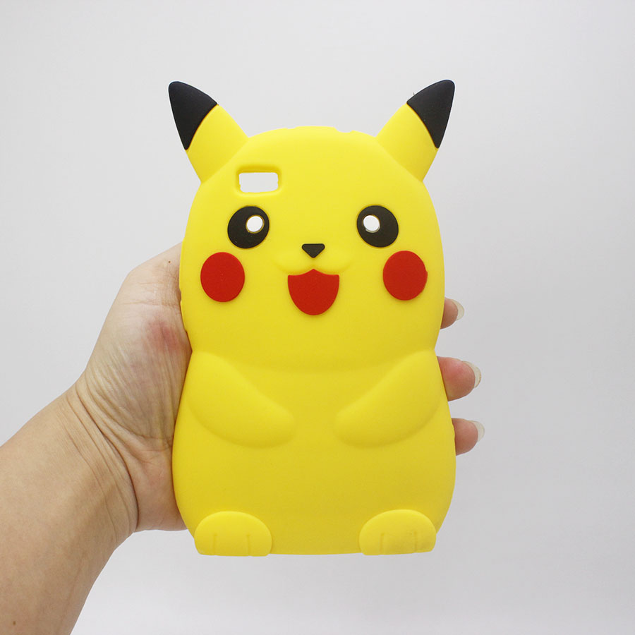 Cartoon Case Poke Pikachue For Huawei G7 G8 P8 P9 P9Lite P8 Lite Y635 Y5 Y6 II For iPhone 5 6 7 Plus Soft Silicone Phone Cover(China (Mainland))