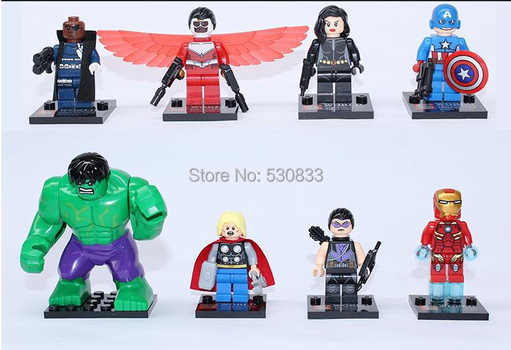 Super Hero SY161 Avengers Toys Building Blocks Sets marvel Kids Educational Compatible Lego  -  factory LEGOtoys store