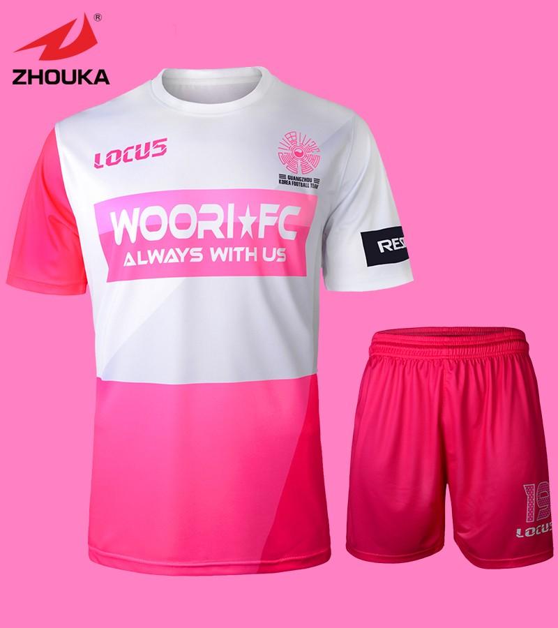 2016 latest Men's football form Soccer Uniform Custom Sublimation printing Set Hot sale(China (Mainland))