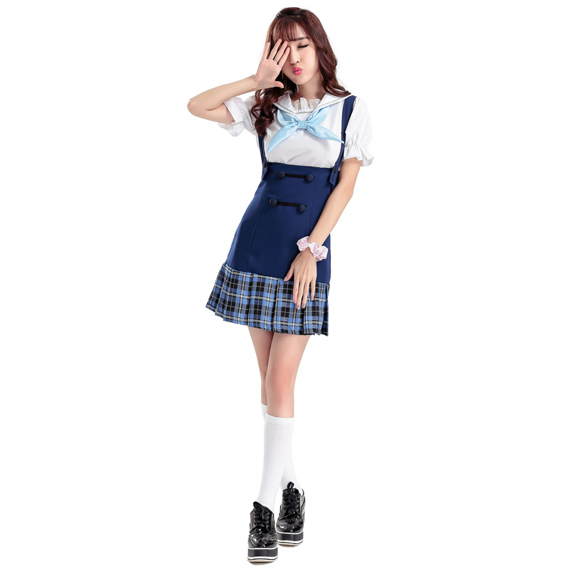 Japanese Anime Love Live Cosplay Costumes 2016 Halloween Party Lovelive School  Girl Uniforms Cos Suits Women