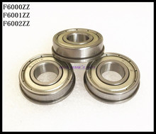 Buy 15pcs/Lot F6001ZZ F6001 ZZ 12x28x8mm Metal Shielded Flange Deep Groove Ball Bearing Brand New for $14.31 in AliExpress store