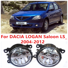 Buy DACIA LOGAN Saloon LS_ 2004-2012 10W Fog Light LED DRL Daytime Running Lights Car Styling lamps for $31.39 in AliExpress store