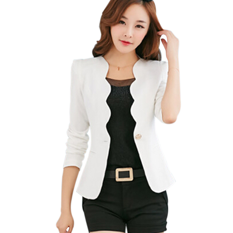 fashion white blazer jackets for women short hairstyle 2013