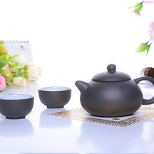 Super Hot summer style teapot purple cup summer style travel tea gong fu tea three sets