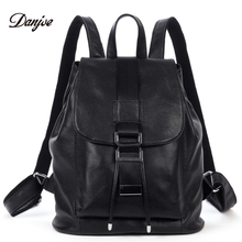 Buy Geniune Leather Backpack Girls College Female Fashion DesignTravel Backpack Woman Back Pack Daily packs Womens for $113.98 in AliExpress store