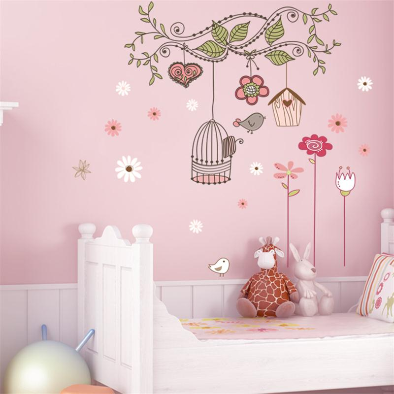 Peel and stick wall decals pvc wall stickers baby room for Baby room decoration wall stickers