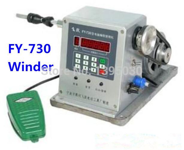By DHL 1pc FY-730 CNC Electronic winding machine Electronic winder Electronic Coiling Machine Winding diameter 0.03 -1.80mm(China (Mainland))
