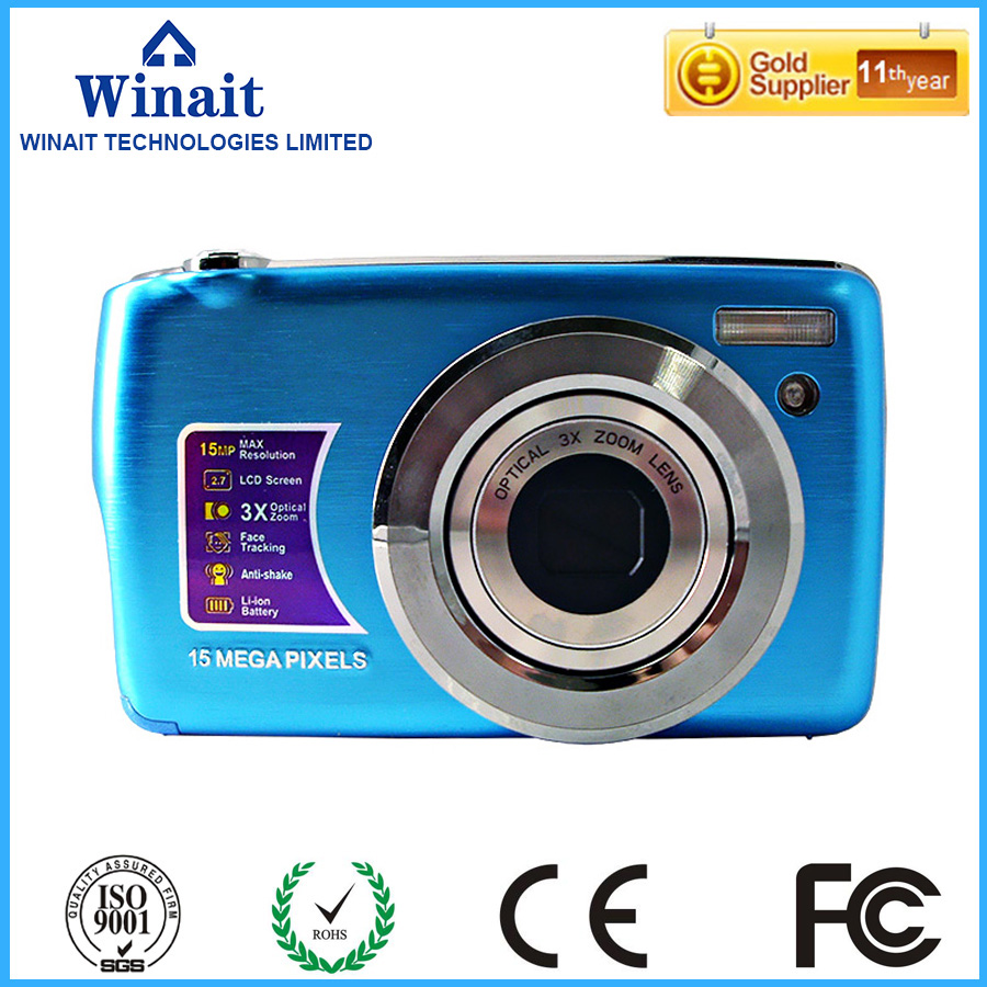 Free Shipping Winait DC-500OE 4x zoom , 5.0Megapixel CMOS ,support 32G SD card childrens digital camera be unique(China (Mainland))