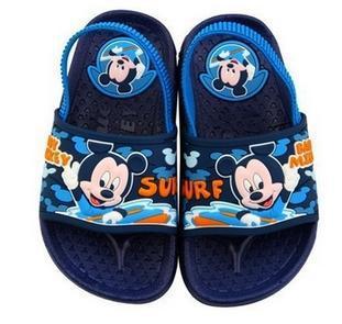 Kids brand Cartoon Garden Sandals Slippers 2014 Summer Hole Shoes Boys Beach Slides - Cherry .F's store