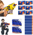 500PCS Lot Soft Bullets for Guns Toys Nerf Pistol AirGun EVA N strike Elite Rampage Retaliator