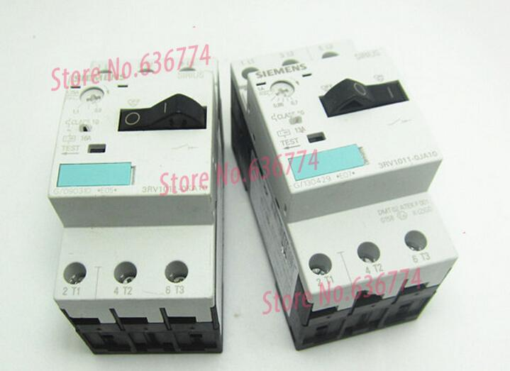 Фотография 3RV1011-0DA10 0.22-0.32 plastic shell type circuit breaker