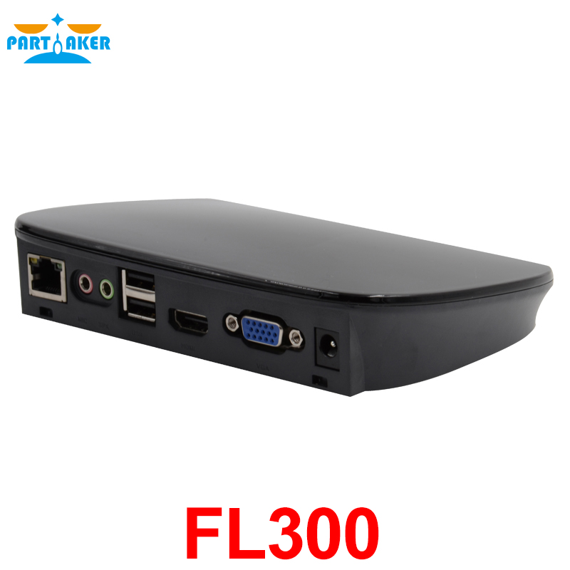 Linux Mini PC Thin Client FL300 Cloud Terminal RDP 7.1 ARM A9 Dual Core 1.5Ghz Processor 1GB RAM HDMI VGA WiFi Thin Client(China (Mainland))