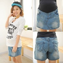 maternity skirt Summer New Arrival denim solid above knee,mini straight pregnancy skirts women Clothes For Pregnant Plus Size(China (Mainland))