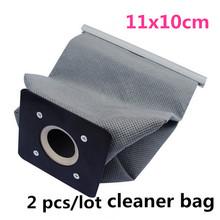 2 teile/los Neue Praktische Staubsauger Taschen Non Woven Taschen Hepa-Filter Staubbeutel Reiniger Taschen Zubehör Für Reiniger 11x10 cm(China (Mainland))